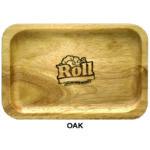 Custom Wood Rolling Tray – Oak