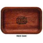 Custom Wood Rolling Tray – Red Oak