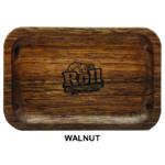 Custom Wood Rolling Tray – Walnut